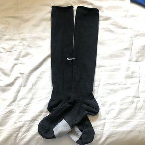 Black Nike Soccer Socks